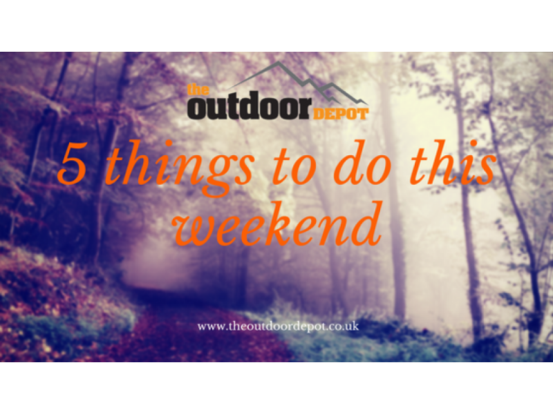 5 Things to do this weekend!