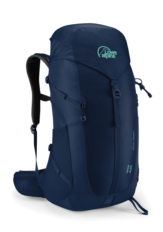 The bestselling Airzone back optimises air flow to increase comfort in this Lowe Alpine day pack.
