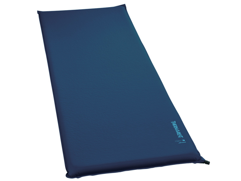 Self inflating camping matress.