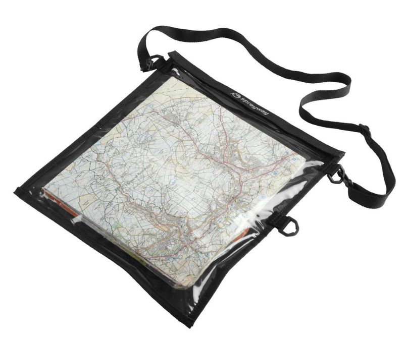 Sprayway's basic map case ideal for walkers.