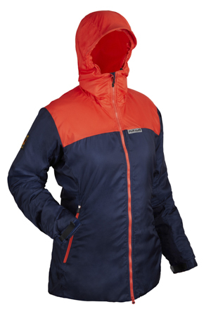 Lightweight synthetic insulation for winter warmth.