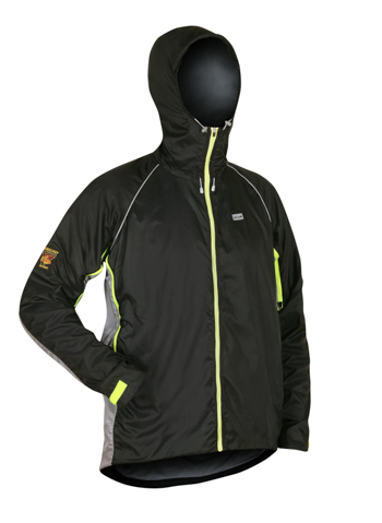 The Quito jacket from Paramo is made from the Nikwax Analogy lightweight fabric so is a light weight option.