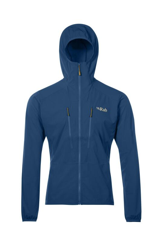 Lightweight windproof softshell