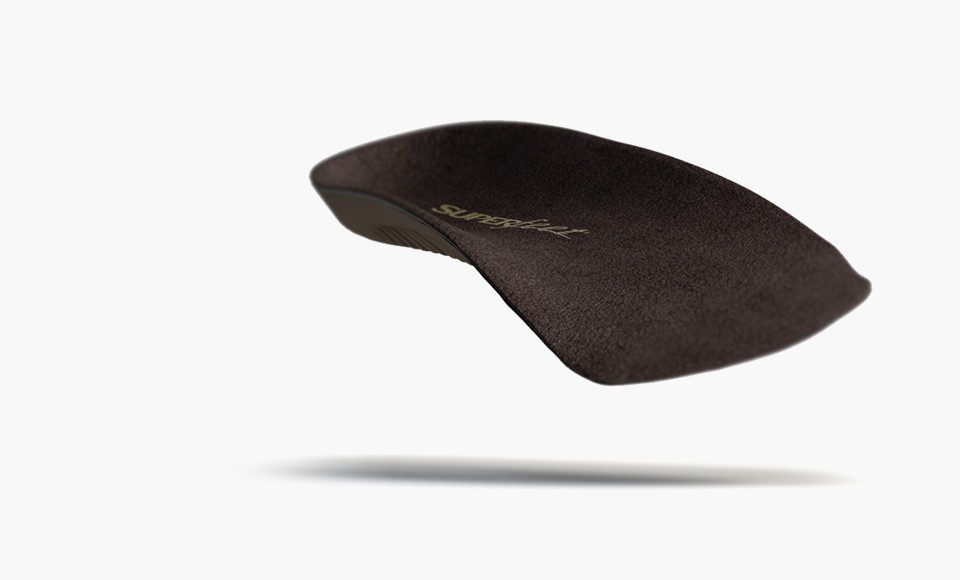 Superfeet orthotic insoles.
