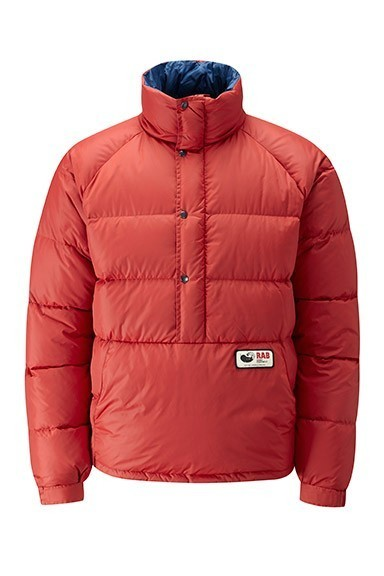 Retro styled down smock from Rab