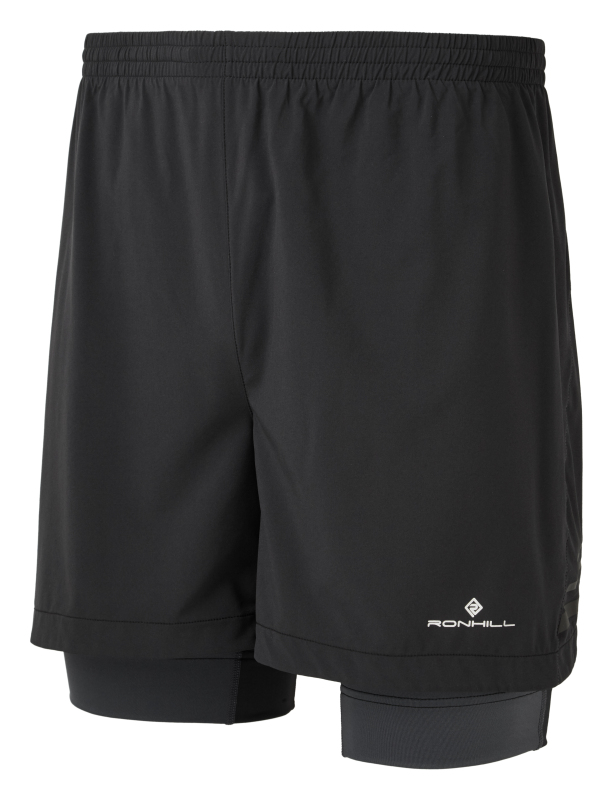 Popular twin skin running shorts from Ronhill