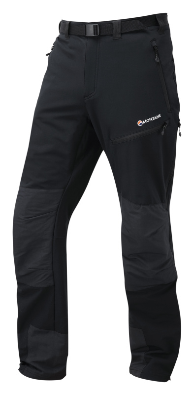 Warm and durable winter walking trousers with stretch.