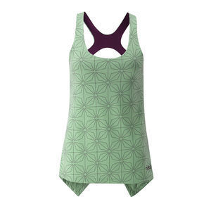 Ladies climbing vest with inbuilt secret support bra