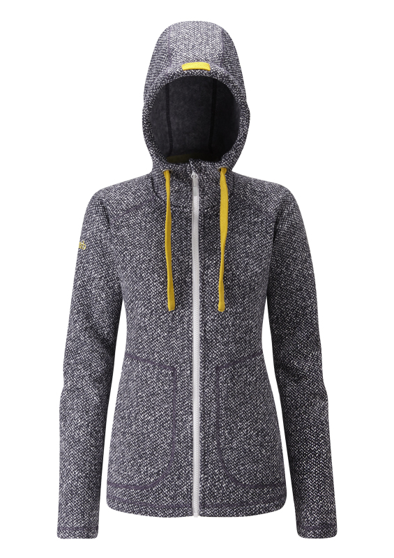 From Rab's more casual range th eAmy hoody is a casual fleece.